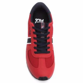 Tênis Masculino Fila F-retro Sport - Vermelho