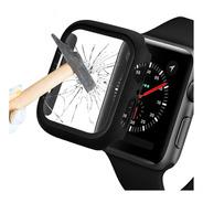 Capa Com De Tela Integrado Para Apple Watch 44mm Preto