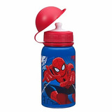 Botella De Agua Aluminio Disney Store Spiderman Hombre Araña
