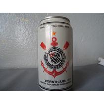 Lata De Cerveja Do Corinthians De 1996 Cheia