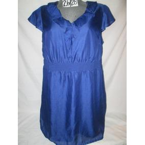 Vestido Azul De Fiesta 0 Evento En Talla 26/28 Extragrande
