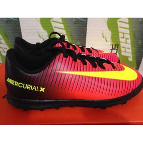 Tenis Nike Mercurial Vortex Turf 100% Originales Cr7 De Niño