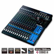 Mesa De Som Analógica 16 Canais Mg16xu Yamaha - Original