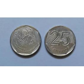 Moeda 25 Centavos Onu