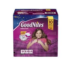 Ropa Interior Goodnites Hora De Dormir Para Niñas (tamaño L