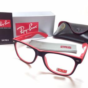 Armação Oculos Grau Quadrado Estilo Rayban 5115 Acetato Bara