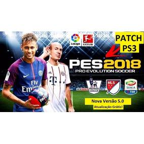 Pes 2018 Ps3+patch De Atualização 5.2 - Mídia Digital