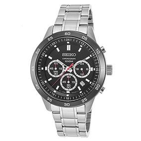 Seiko Relojes Mens Neo Sport Chronograph Reloj De Acero Ino