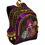 Mochila De Costas M Monster High 14z Sestini Roxo/preto