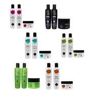 30 Produtos (10 Kits) = Shampoo, Condicionador E Máscara