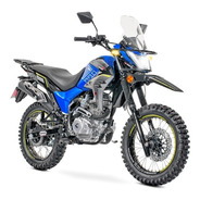 Motocicleta Carabela Route R Sonora 200 Azul