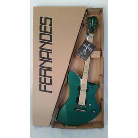 Guitarra Fernandes Vertigo Verde Vx08 Dgms Nova Na Caixa