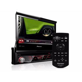 Dvd Automotivo Pioneer Retrátil Avh-3880dvd 1din Usb Control