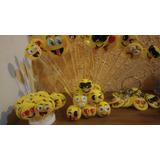 Adorno De Torta Y 20 Emojis Pinches
