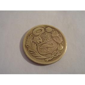 Peru Moneda Un Sol De Oro 1965