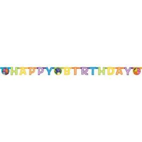 Backyardigans Banner Cumpleaños - 1 Ud.