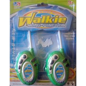 Juguete Walkie Talkie Radio Transmisor Para Niños Oferta