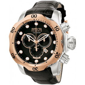 2961ec7908c Pulseira De Couro Relogio Invicta Venom - Relógios De Pulso no ...