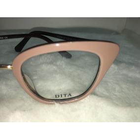 1f8abdaf3 Óculos Armação Para Grau Dita Novo Modelo Gatinho -dt100. São Paulo · Oculos  De Grau Cor Nude Lançamento Feminino -dt110. R$ 135