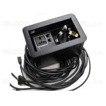 Panel Con Conectores Para Escritorio Cables1.8mts De Largo