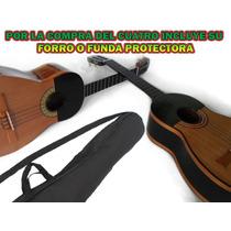 Oferta De Cuatros Sonoros Con Su Forro Protector En Cedro