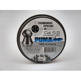 20 Cx Chumbinho 5.5 Puma Lançamento Melhor Q Snyper 2500 Und
