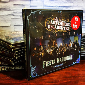 Los Autenticos Decadentes Fiesta Nacional Mtv Cd + Dvd Stock