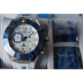 Technomarine Black Reef Tm515020 Azul / Blanco Tiempo Exacto