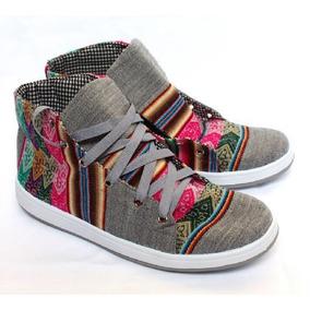 Zapatillas Botitas De Aguayo - Producto Artesanal