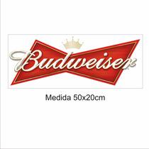 Adesivos De Parede, Geladeiras, Cerveja Budweiser 50x20cm