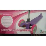 Patinete 3 Rodas Skatenet Infantil Ate 40kg Top