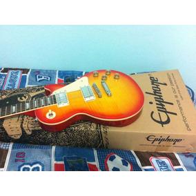Guitarra Epiphone Les Paul Ultra Iii Seminueva De Contado