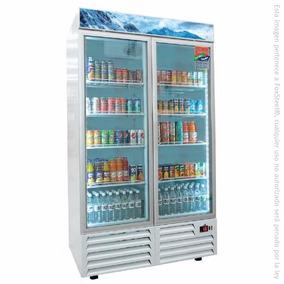 Congelador Vertical Exhibidor 2 Puertas 37 Ft Afmd-37 Asber