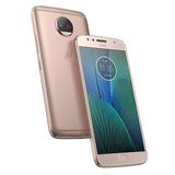 Motorola Moto G5 S Plus 4gb 32gb Rosa+funda Rígida+ Vidrio