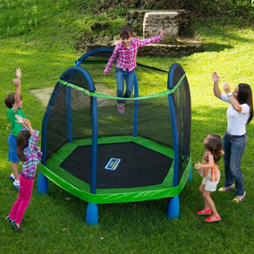 Brincolín Trampolín Infantil Red De Protección Sin Estres