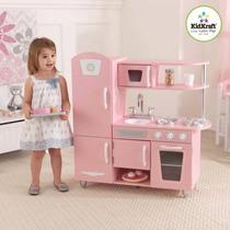 Cocina Cocinita Infantil Kidkraft Rosa Envio Inmediato