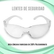 5 Lentes Goggles De Seguridad Y Protección Mica Clara Jyrsa