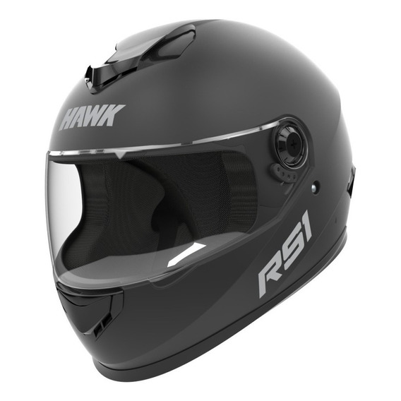 Casco Moto Integral Hawk Rs1 2019 Negro O Blanco - Sti Motos