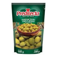 Azeitonas Verdes Com Caroço 200g Sachê Predilecta