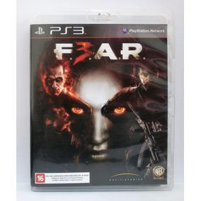 Fear F.e.a.r. 3 Jogo Ps3 Usado Mídia Fisica
