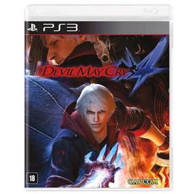 Jogo Devil May Cry 4 Ps3 Novo Lacrado Original