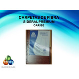 Carpeta Oficio De Fibra Sideral Premium Caribe Empaque Nuevo