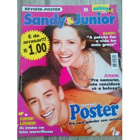Sandy E Junior Revista Pôster