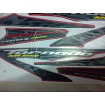 Adesivo Moto Xr 250 Tornado 2008 Verm Completa