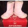 Atomik Kids Botas Para Nena Ideal Frío Nieve Poco Uso C/caja