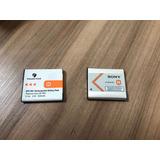 2 Baterias Recarregaveis -maquina Fotografica Sony Cybershot