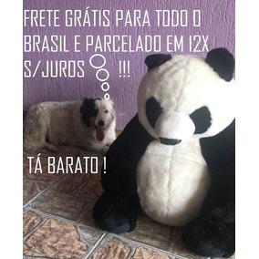 Urso Panda Pelúcia Gigante Frete *grátis* Para Todo O Brasil