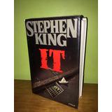 Libro, It En Inglés De Stephen King Tapa Dura, 1ra Edición.