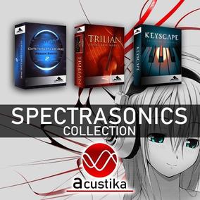 Spectrasonics Omnisphere 2 + Trilian + Keyscape