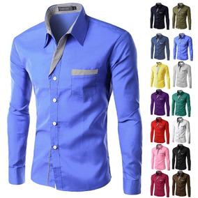 Camisa Ocasional Formal Con Estilo